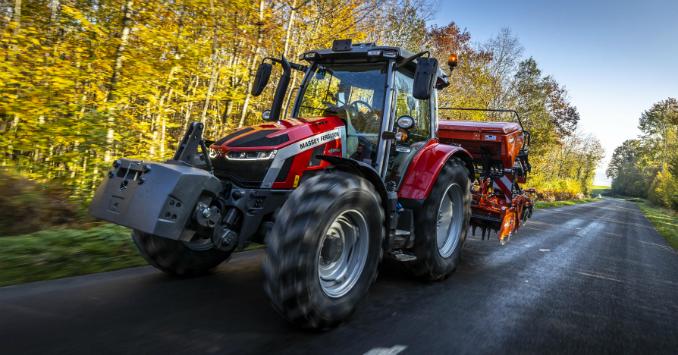 Neue MF 5S Baureihe kombiniert beste Übersicht, einfache Bedienung und hohen Komfort für Betriebe aller Art